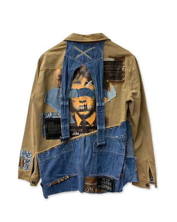 Jim Jagger Half/Half Denim Jacket