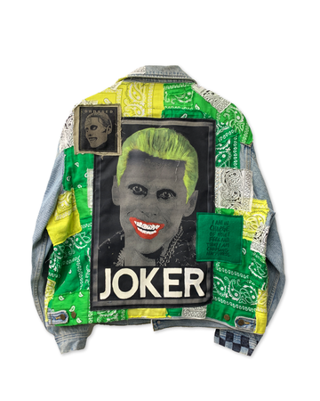 Joker Bandana Denim Jacket