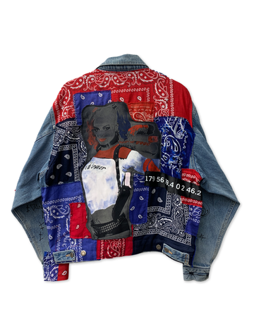 Harley Bandana Denim Jacket