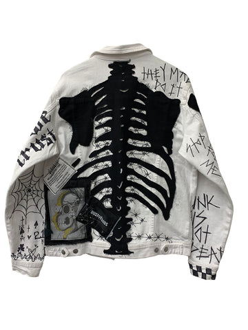 SKELETON DENIM JACKET