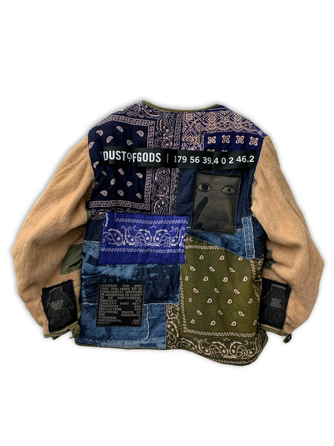 MIXED BANDANA JACKET
