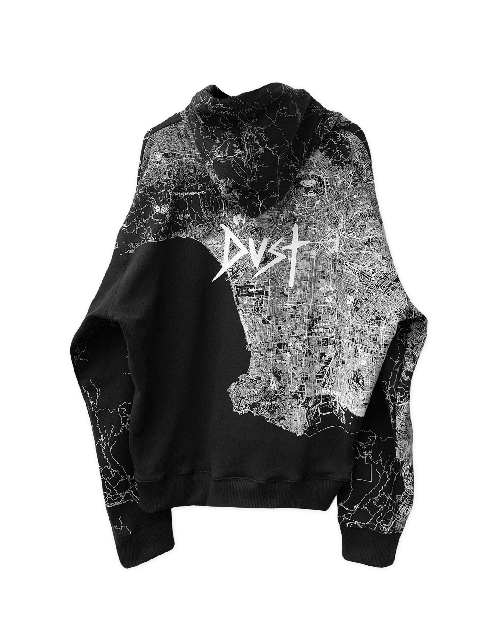 UN●BREAK●A●BLE LOS ANGELES BLACK HOODIE