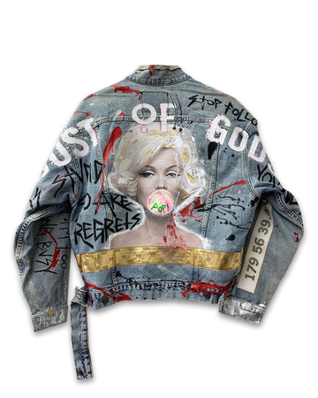 Marilyn is Dusted Denim Jacket