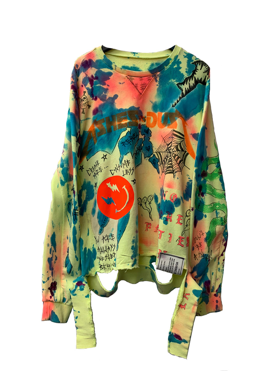 TIE DYE SWEATSHIRT CUSTOM COMMISSION