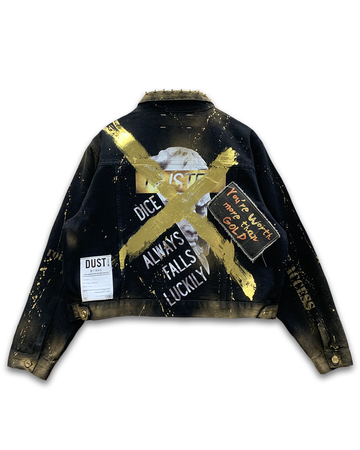 Worth More Than Gold Denim Jacket