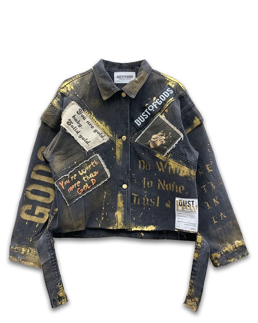 Golden Touch Denim Jacket