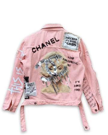 This is Not Coco Pink Denim Jacket