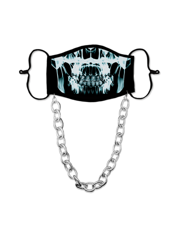 Chained Dust of Gods Blue X Ray Mask