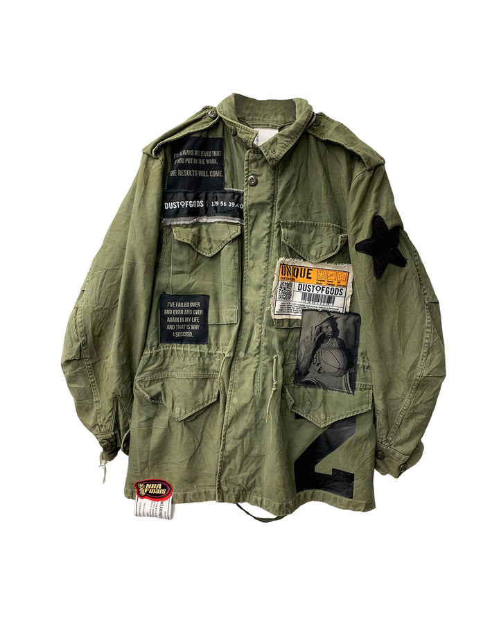 I SUCCEED MILITARY JACKET