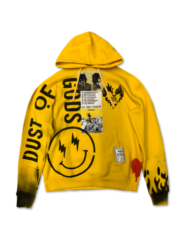 All Smiles Yellow Hoodie