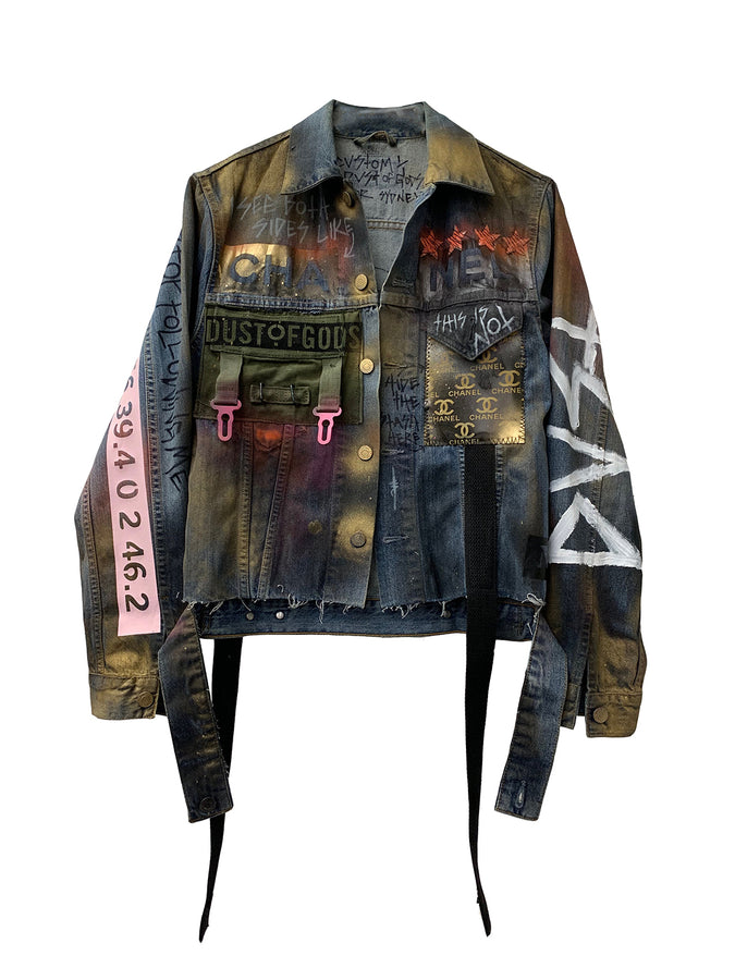 Chanel Marilyn denim jacket