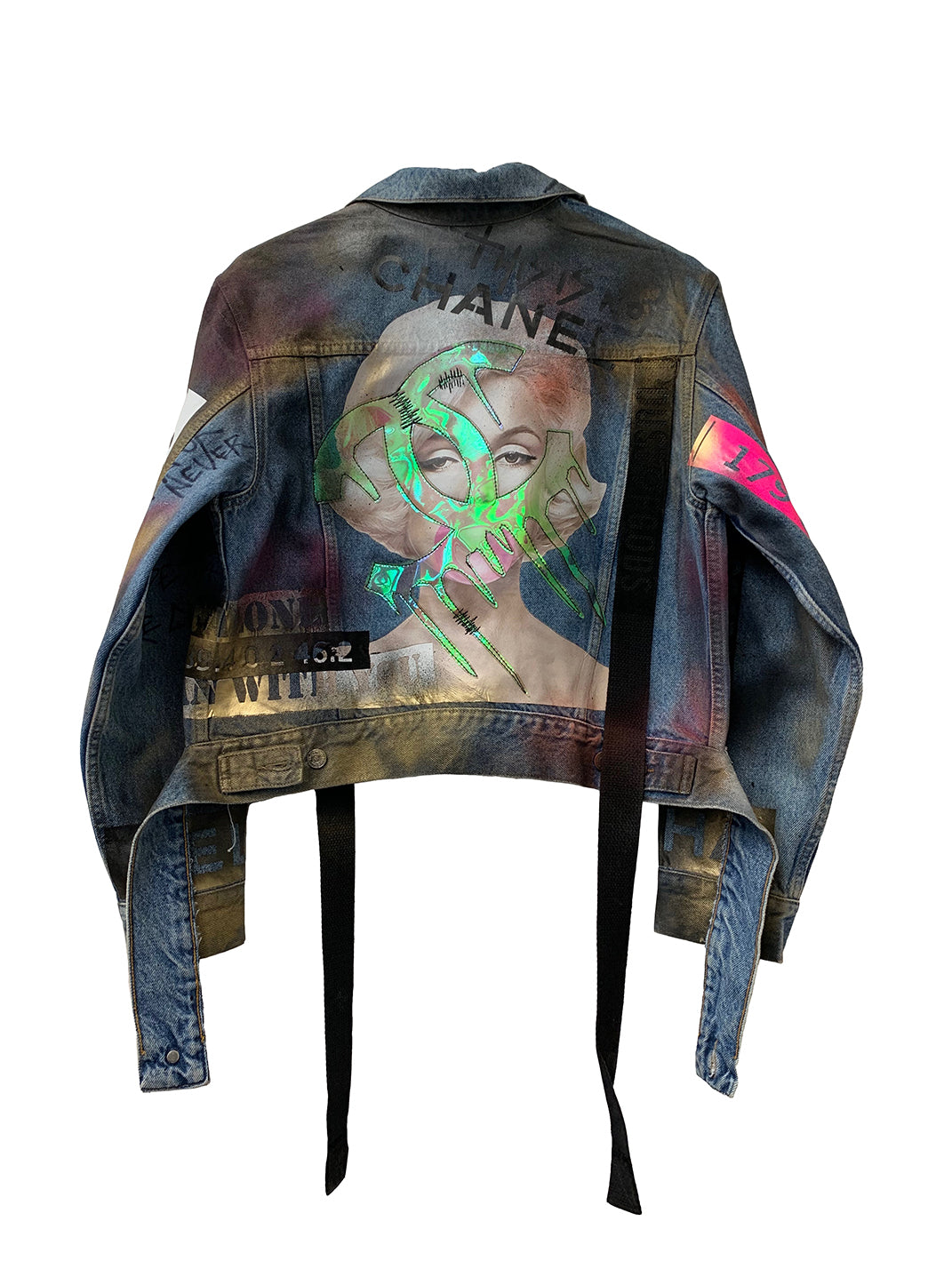This is not Chanel Marilyn denim jacket