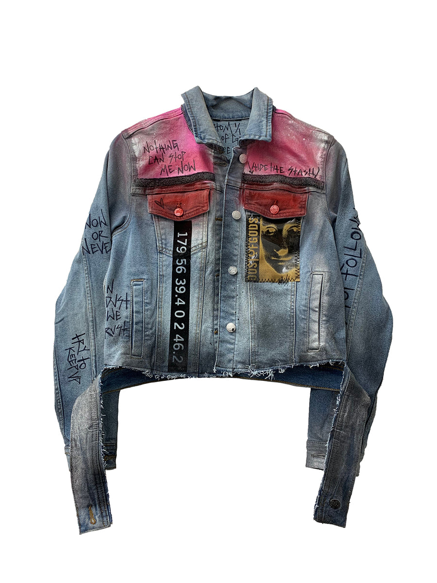 LV Marilyn Denim Jacket