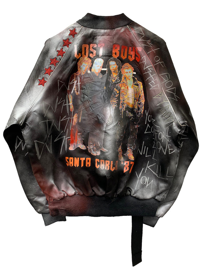 Lost boys bomber jacket