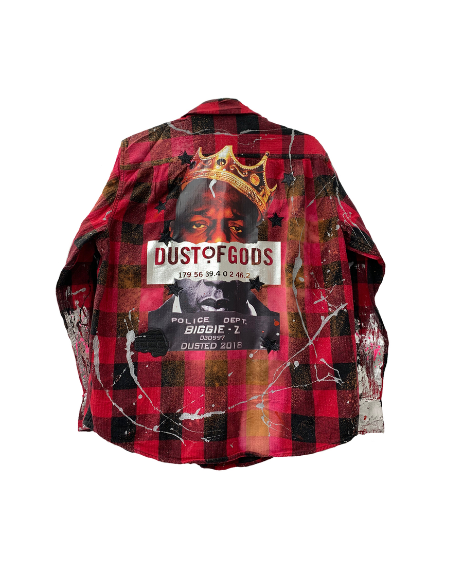 BIGGIE PLAID SHIRT