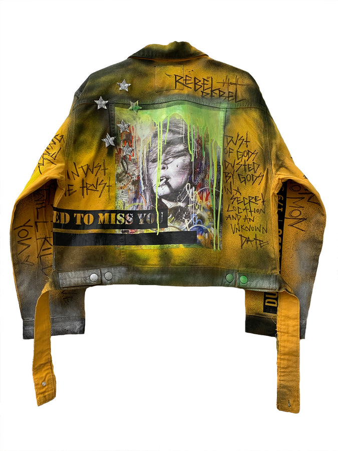 I USED TO MISS YOU CLASSIC DENIM JACKET