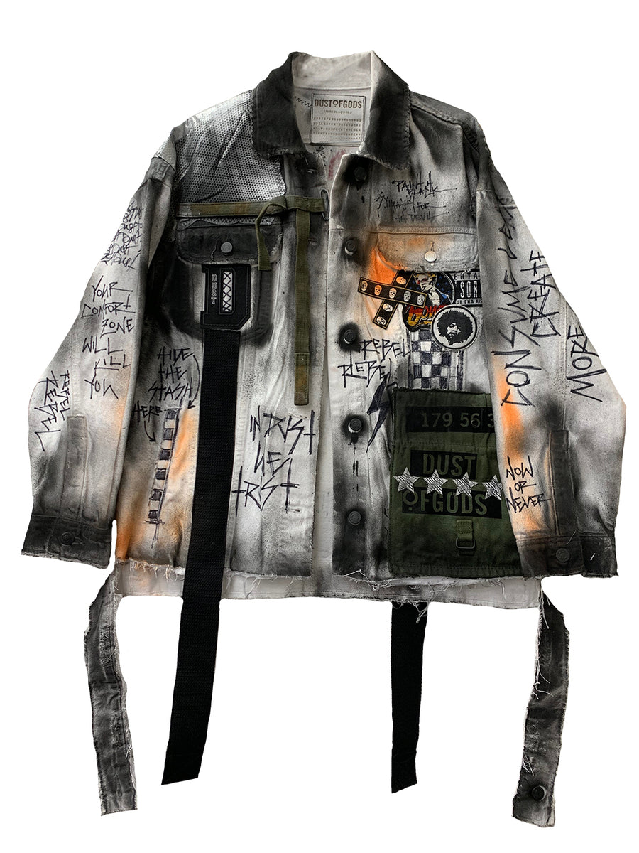 GREEK GOD CLASSIC DENIM JACKET