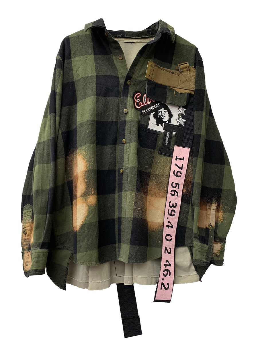 Flannel x T-shirt 003