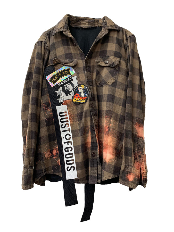 Flannel x t-shirt 001
