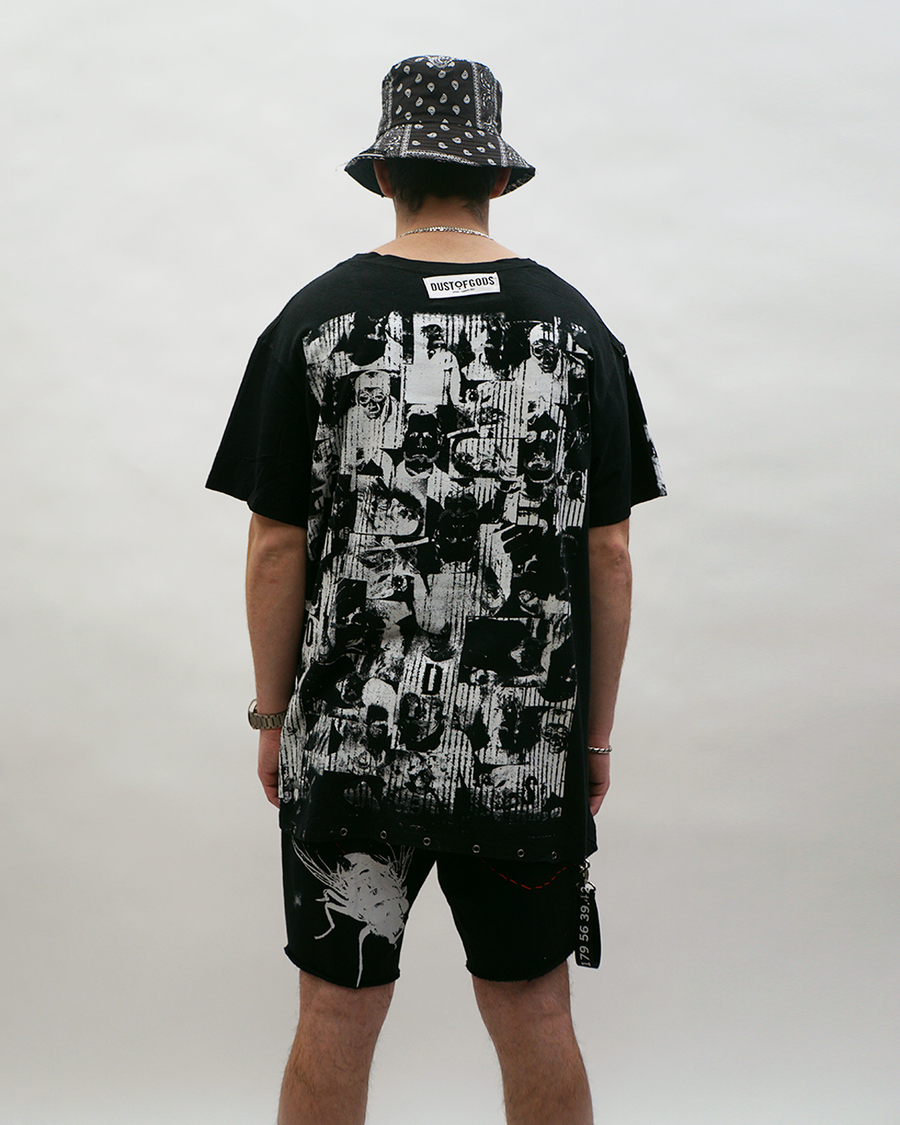 Faces Black Tee