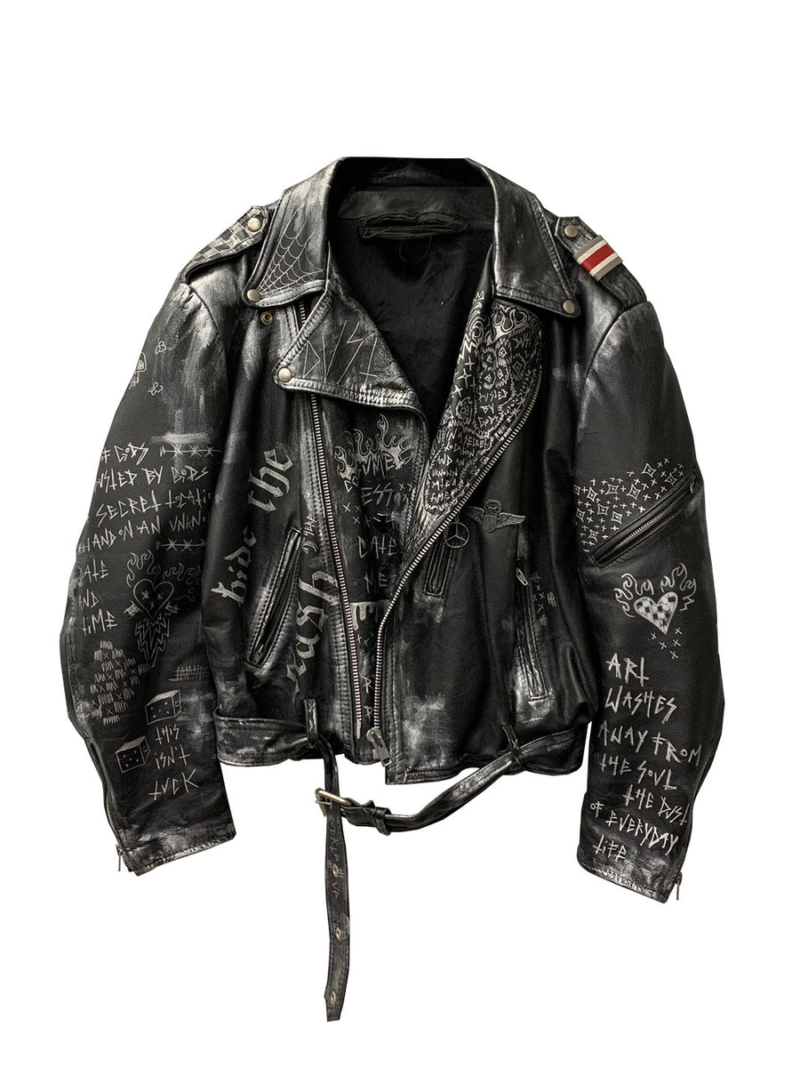 THE DUST OF LIFE LEATHER JACKET