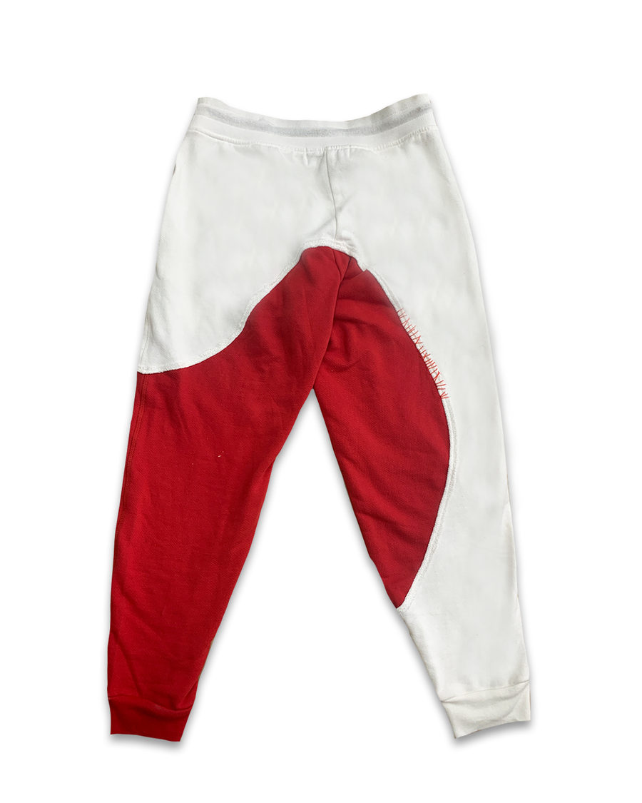 Unbreakable White & Red Lounge Pants