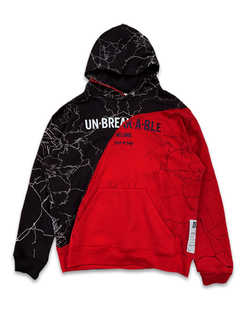 Unbreakable Black & Red One Hoodie