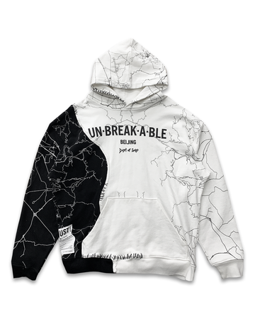 Unbreakable Black & White One Hoodie