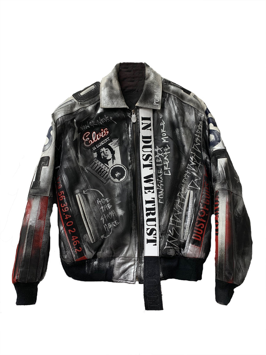 Identity Leather Jacket
