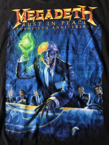 Playera Megadeth Tour 2010