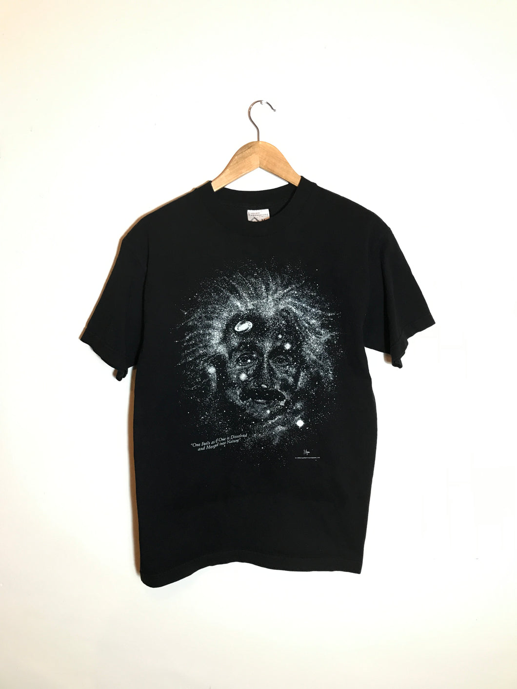 Playera Einstein Vintage (Glow in the Dark)