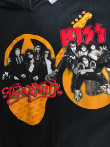 Playera Tour Kiss & Aerosmith