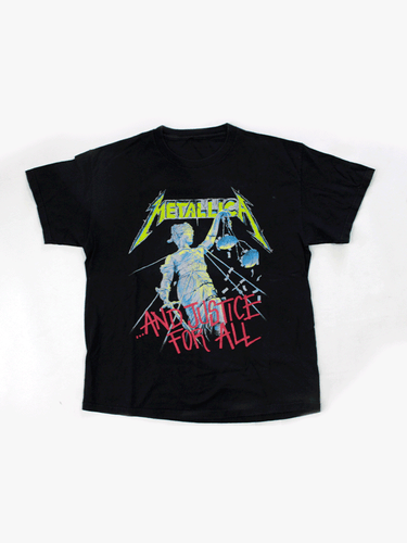 Playera Metallica Justice for All Vintage