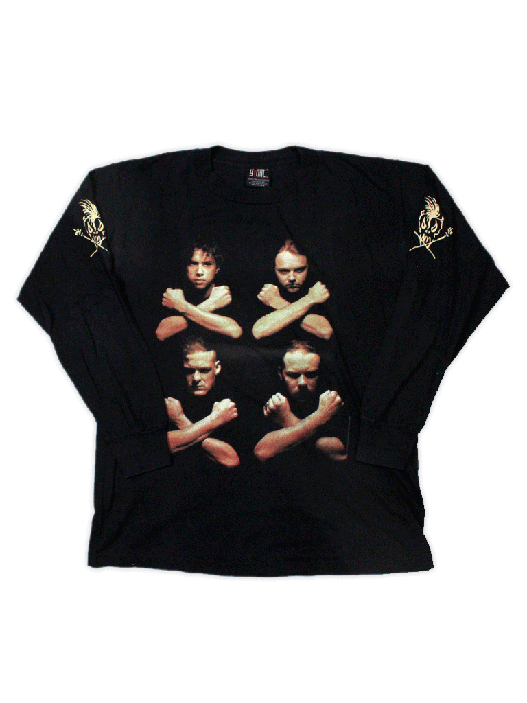 Playera Metallica 1994 Birth School Vintage