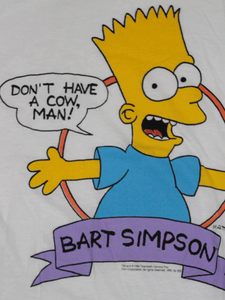 Playera Bart Simpson Vintage