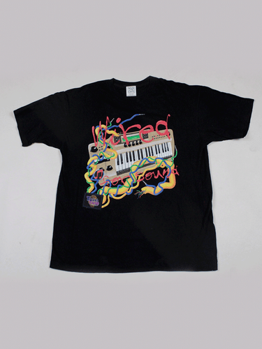 Playera Wired for Sound Vintage