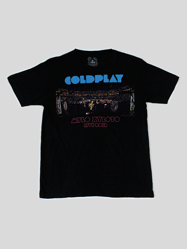 Playera Coldplay 2012