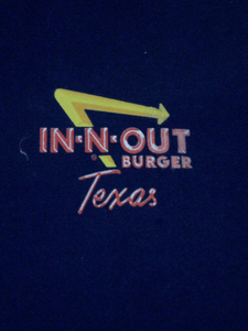Playera In N Out Texas