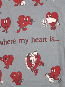 Playera Heart Vintage