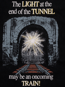 Playera Light Tunnel Vintage