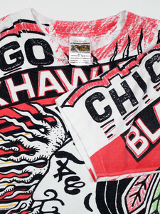 Playera Chicago Blackhawks Vintage