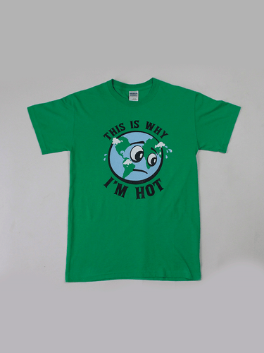 Playera Hot Earth