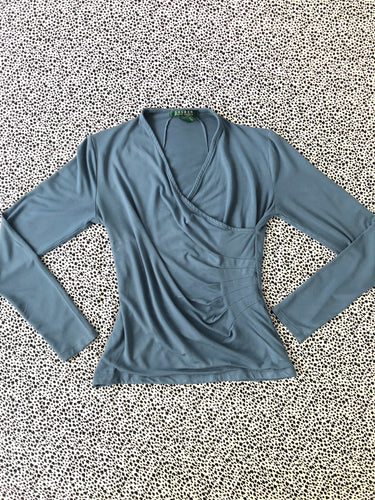 Top azul Ralph Lauren