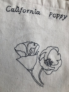 Tote Bag California Poppy