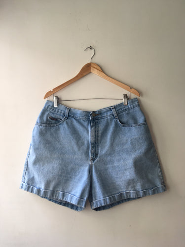 Mom Shorts de Mezcilla