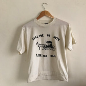 Playera Carroza Vintage