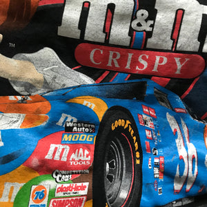 Playera Vintage M&M's Nascar