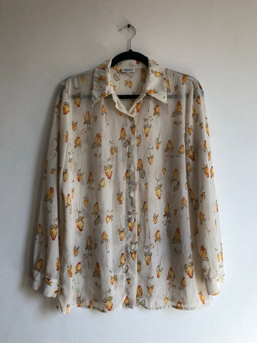 Blusa Fire Roses