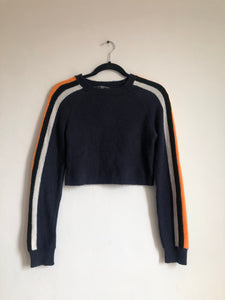 Crop Sweater Franjas