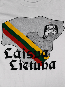 Playera Lithuania Vintage